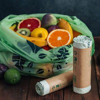 Kompostuojami pirkinių maišeliai